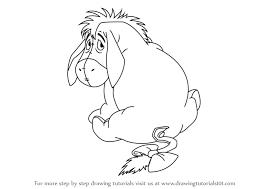 learn draw eeyore winnie pooh winnie pooh
