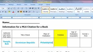 do you quote book titles in mla format how to cite a print book in mla format mp4 youtube