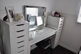 makeup vanity table with drawers post photos of your vanity makeup table bathroom counter purseforum