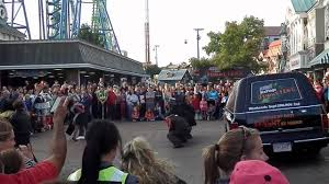 Fright Fest Six Flags New England Fright Fest The Awakening Show At Six Flags New England Youtube