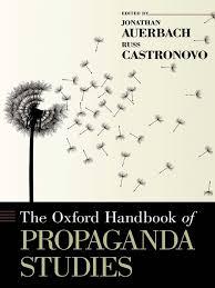 the oxford handbook of propaganda studies jonathan auerbach