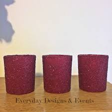 Bridal Shower Table Decorations 12 Burgundy Candle Holders Wedding Decoration Wedding Centerpieces