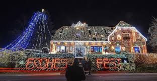 Top 5 House Christmas Lights Displays in US  Buffalo Made the List