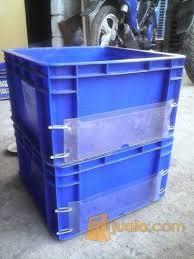 Jual Keranjang Container Plastik Bekas container plastik box plastik bekas bekasi jualo