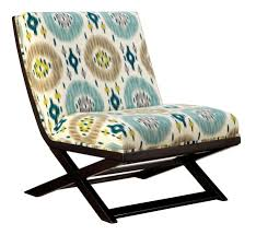 Teal Accent Chair by Teal Accent Chair With Ottoman Grey Patterned Accent Chair Bobbin