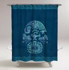 Disney Shower Curtains by Moana Disney Maoi Blue Ocean Custom Design Shower Curtain Print On