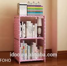 Modern Kids Bookshelf Modern Popular Design Non Woven Fabric Bookshelf Diy Bookshelf