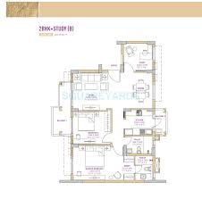 3 bhk 1877 sq ft apartment for sale in vatika seven lamps at rs
