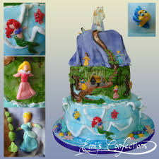 Disney Princess Cake Emi Ponce De Souza Turning Words Into
