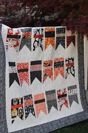 halloween bunting quilt