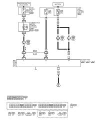nissan xterra alternator wiring diagram nissan free wiring diagrams