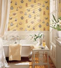 wallpaper for bathrooms ideas 30 bathroom wallpaper ideas shelterness