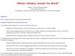 holidays around the world lesson plans worksheets