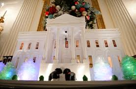 white house holiday decorations