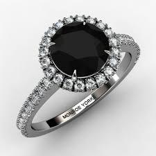 dakota wedding band dakota halo black diamond engagement ring aaa grade