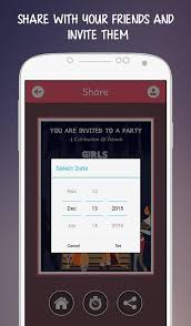 invitation maker app party invitations android apps on play