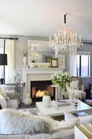 all white living room set
