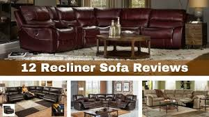 Leather Recliner Sofa Reviews Flexsteel Leather Sofa Reviews Nrhcares