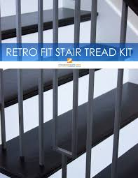 10 best retrofit stair tread kits images on pinterest stair