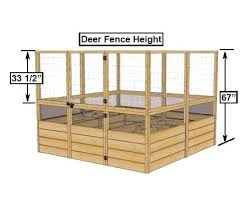 deer proof cedar complete raised garden bed kit 8 u0027 x 8 u0027 x 20