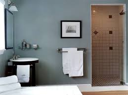 paint colors that suit the best in small spaced bathrooms wall