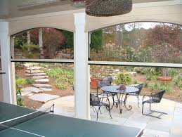 motorized retractable solar screens for patios windows and doors