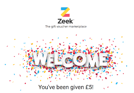 5 gift card zeek uk gift card marketplace 5 promo code and 5 referrals