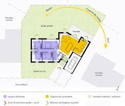 plan de maison de plain pied avec 4 chambres superbe plan de maison plain pied en v 3 plan maison en v avec 4