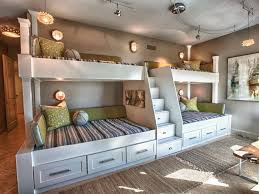 Bedroom Ideas  Awesome Wood Bunk Beds With Teen Boys Beds Teen - Cool teenage bedroom ideas for boys