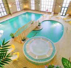 small indoor pools adorable indoor pool with unique shape and decorated with small