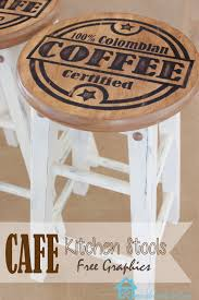 Round Bar Stool Covers Remodelando La Casa Bar Stool Makeover From Modern To Rustic