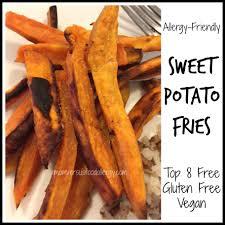 Root Vegetable Allergy - allergy friendly sweet potato fries mom vs food allergy