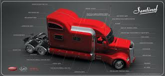 how much is a volvo semi truck peterbilt sentinel truck concept offers classic and elegant