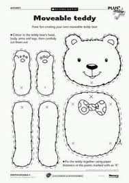 teddy bear template to print templates click on picture and