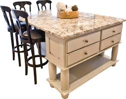 kitchen island cart with seating portable kitchen island with seating for 4 the home regard to