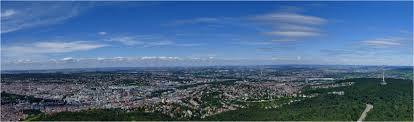 fernsehturm stuttgart stuttgart panorama vom fernsehturm aus 02 foto u0026 bild farbe