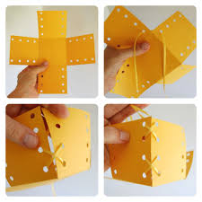 How To Make A Box With Paper - how to make a simple paper gift box educator101educator101