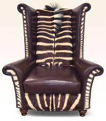 safari furniture collection king chair zebra u2039 u2039 the leather sofa
