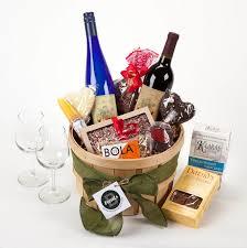 wine gift basket ideas wine gift baskets hilltop orchards