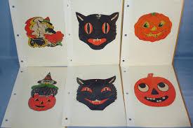 beistle halloween decorations luhrs witch owl black cat pumpkin