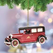 downton car ornament
