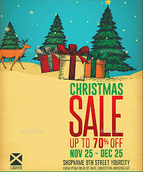 christmas sale flyer template 8 free sales flyer templates excel