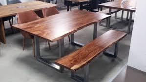 Esszimmertisch 200 X 100 Kerala Massivholz Akazie 220x100 Cm Mit Baumkante