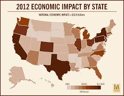Colorado Breweries Map by Craft Brewers U0027 Economic Contribution Reaches 34 Billion Brewers