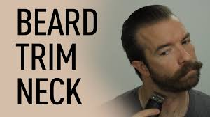 how to measure your beard length how to trim your beard neck line jeff buoncristiano youtube