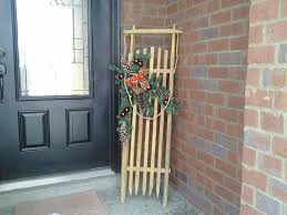 Outdoor Christmas Decorations Made Of Wood by 159 Best Christmas Sleds Images On Pinterest Christmas Ideas
