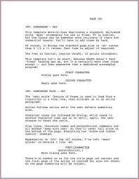 tv commercial script template screenplay template screenplay formatter docs add on