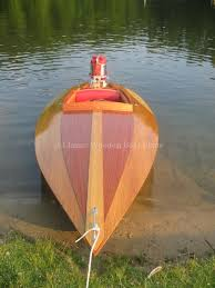 Free Small Wood Boat Plans by Classic Wooden Boat Plans Switzer Bullet 13