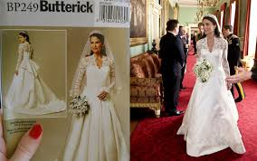 wedding dress pattern princess catherine s wedding dress pattern giveaway b5731