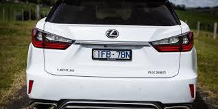 lexus f sport trunk badge 2016 lexus rx350 f sport review caradvice